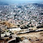 Attēls no Pergamon Acropolis. 2001 trip turkey geotagged greek columns entrance acropolis pergamon bergama geo:lat=3913212485782123 geo:lon=27184440828380616