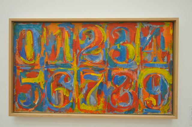 Jasper Johns Numbers | Flickr - Photo Sharing!