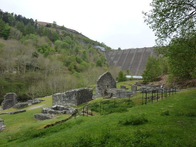 Clywedog Dam and the Bryntail Mine