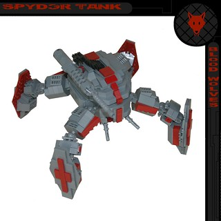 Blood Wolves: Spyder Tank
