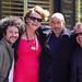 Johan, Michelle, Bertrand et Philippe à un lunch d'après Webcom by Charles Nouÿrit