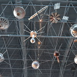 Steven F. Udvar-Hazy Center: Space exhibit, models of early scientific satellites