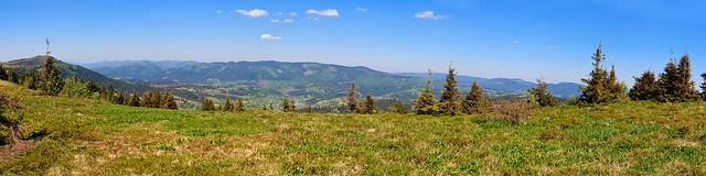Carpathian. Panorama