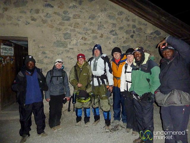 Starting Summit Climb at Midnight - Mt. Kilimanjaro, Tanzania