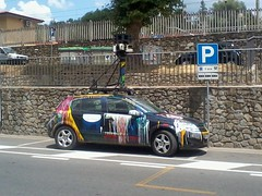 Google Street View Car - Side