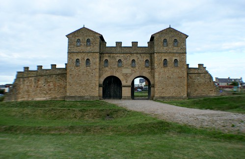 Reconstruction of Arbeia Roman Fort, Hadrian's Wall