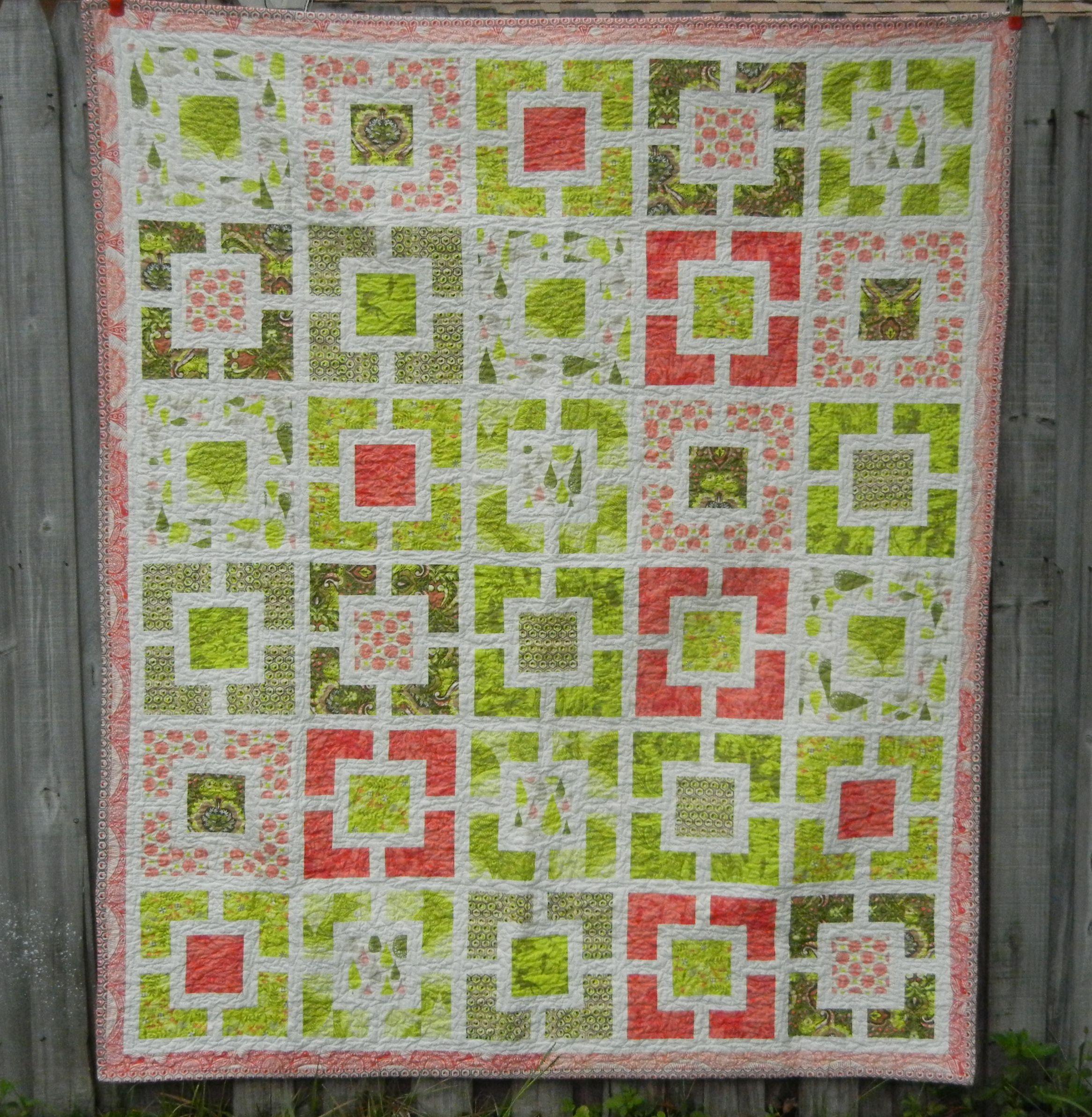Alex's Garden Prince quilt