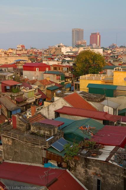 Old Quarter Rooftops, Hanoi
