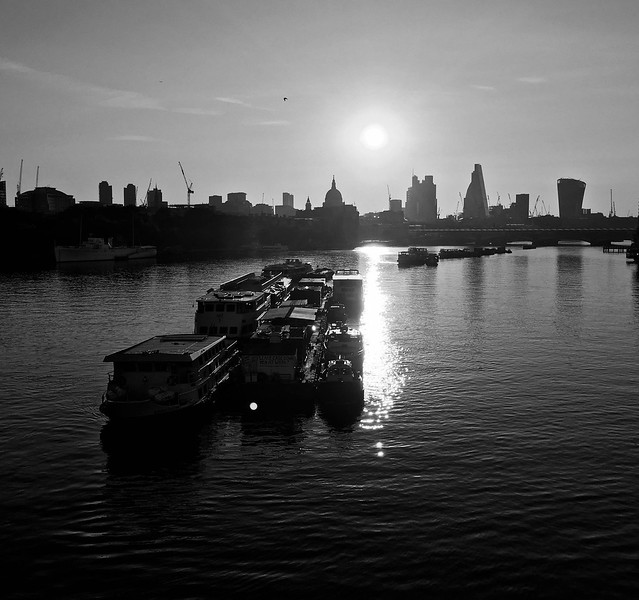 Father Thames at Sunrise