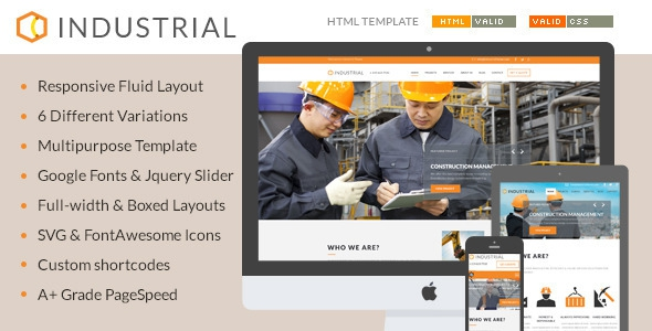 Industrial v1.0.0 - Architects & Engineers HTML5 Template