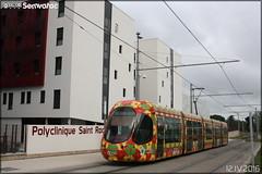 Alstom Citadis - Tam Montpellier 3M (Transports Alternatifs de Montpellier Méditerranée Métropole) n°2053