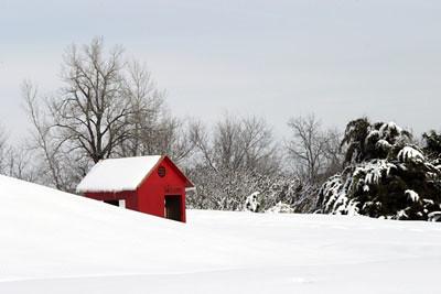 inverno e neve nos EUA