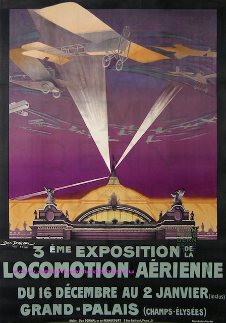 Geo dorival 1911 3e expo locomotion aerienne grand palais flickr photo sharing - Grand palais expo horaires ...