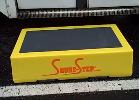 Safe Step Stool for Bus