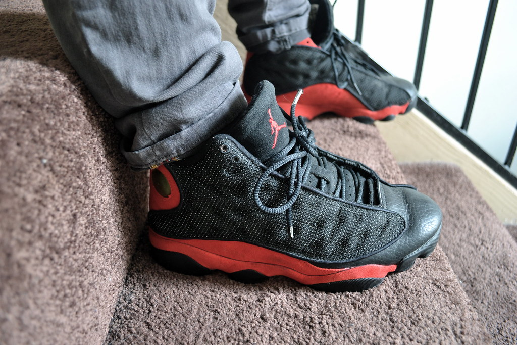 low priced dc495 2752f ... Air Jordan XIII - 1998 OG Bred  by Ma Got Sole