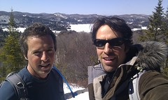 stephanepage posted a photo:	Hiking with my brother