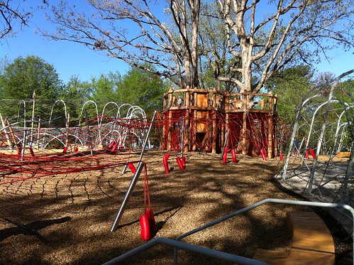 Woodland Discovery Playground at Shelby Farms