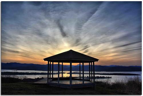 sunset ny newyork canon adirondacks lakegeorge pilotknob waterfallguy