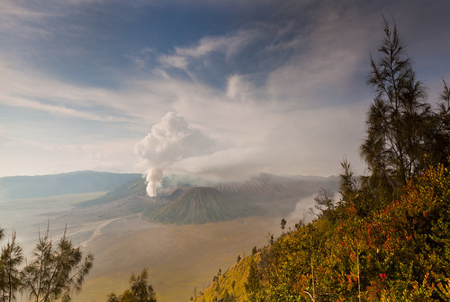 indonesia landscape volcano helminadia mountbromo eastjava
