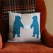 Bears in Love Pillow