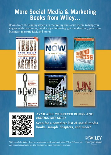 5643991619 950a4a4f65 Social Media and Marketing Books from Wiley