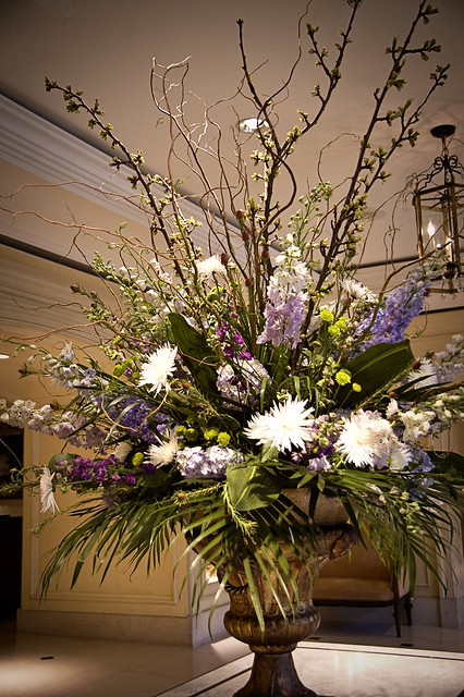 Flower arrangement at ritz carlton new orleans flickr