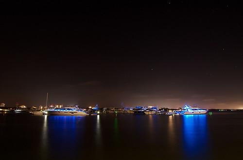 stars boats pier long exposure florida wharf yachts destin sandestin baytowne