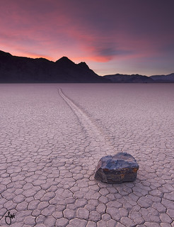 All alone - Race Track, Death Valley National Park, NV