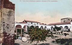 Mission San Juan Capistrano, pre-1917