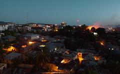 Chake-Chake (Tanzania) - Town by night