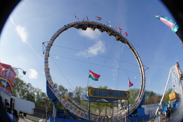 The Ring of fire at the Wade show fair