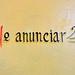 No anunciar - Tipografía en Chapantongo, México