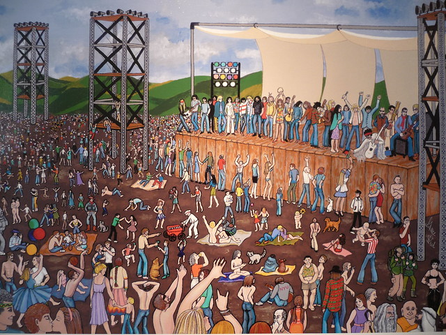 woodstock painting by grace slick flickr photo sharing