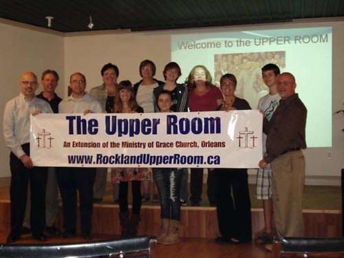 Members of Rockland Extension Charge's Upper Room