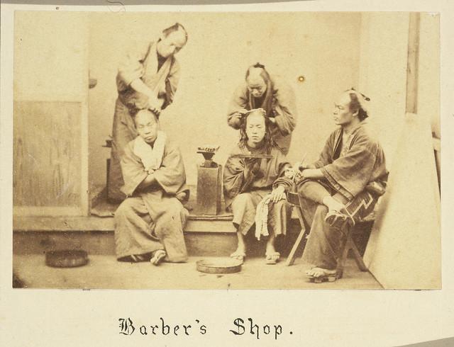 Barbers shop, Japan Flickr - Photo Sharing!