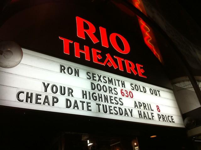 Ron Sexsmith at the Rio Theatre