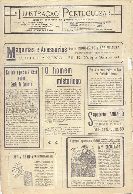 Ilustração Portugueza, 1920s - 1
