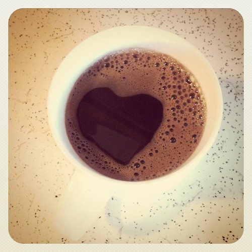Happy Thing: Heart-Shaped Coffee