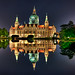 Hannover Rathaus by Sprengben [why not get a friend]