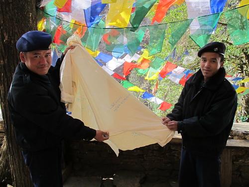Policeman, Paro, Bhutan