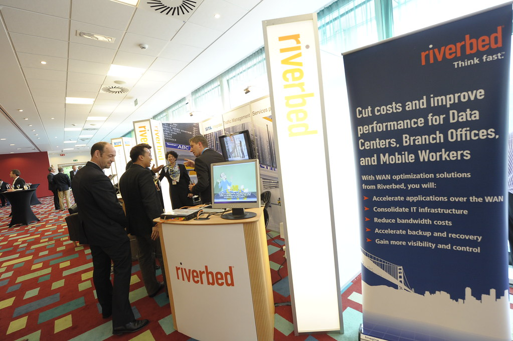 Riverbed at Air Transport IT Summit 2011 | Air Transport IT