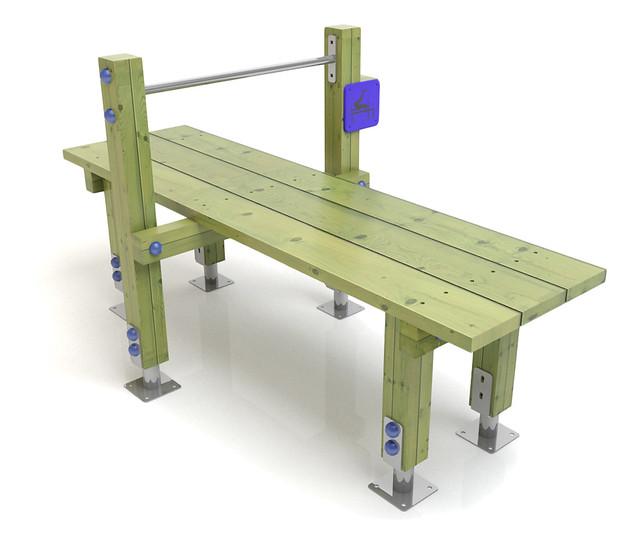 5863180326 07ac0381c2 - Como hacer bancos de madera ...