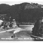 Burg Werfenstein und Insel Wörth 08 1932