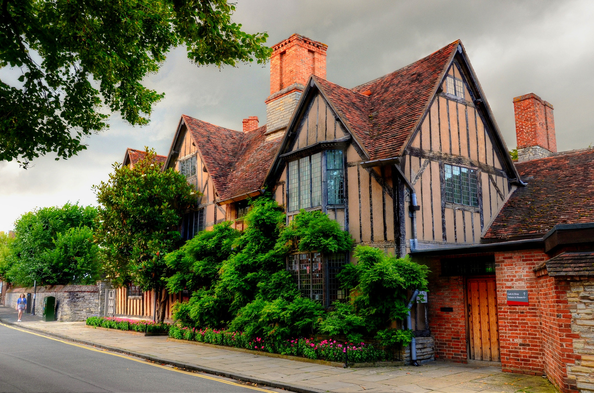 Stratford-upon-Avon. Hall's Croft - Shakespeare's daughter's house. Baz Richardson