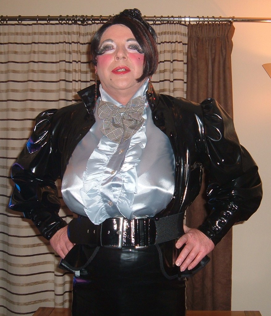 Huge Tits In Frilly Satin Blouse  Mistress Michelle  Flickr-3400