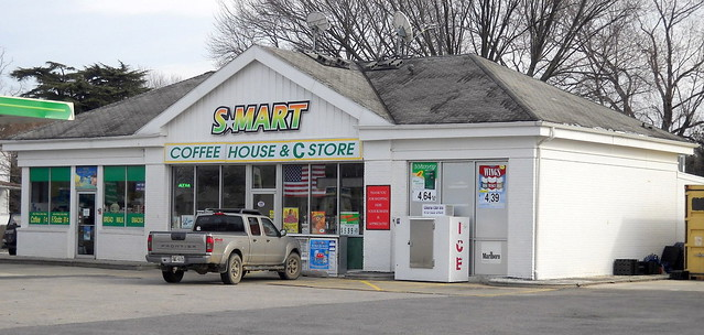 Former Gas Station  Route 144  Smart Coffee House  U0026 Store