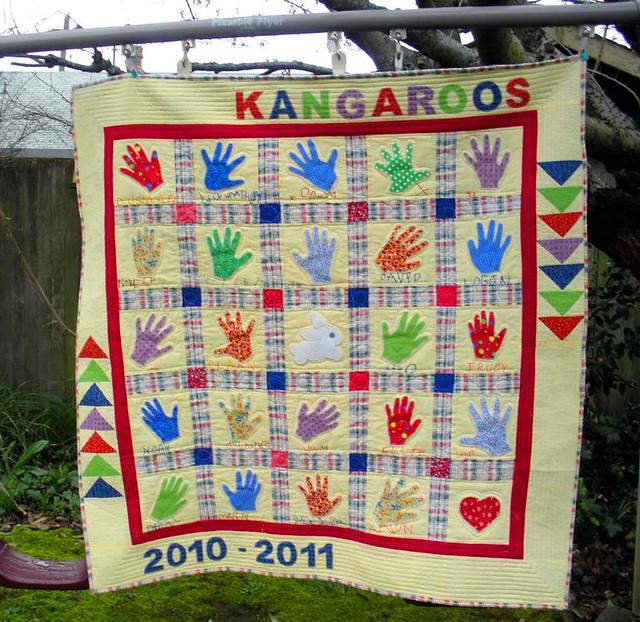 Quilt Patterns For Kindergarten : Preschool quilt - finished! Flickr - Photo Sharing!