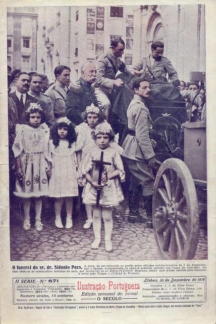 Ilustração Portugueza, Nº 671, Dezembro 30 1918 - capa
