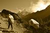Sherpas in Sepia