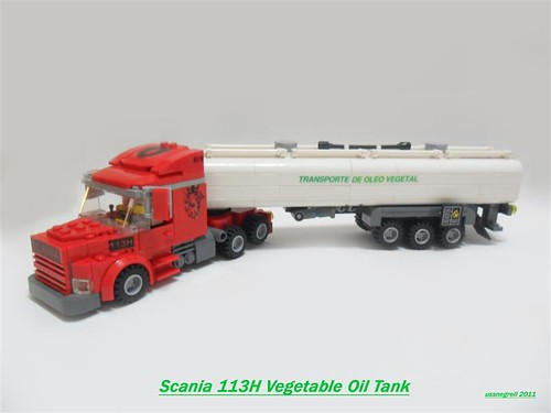 Scania 113 Vegetable Oil Tank